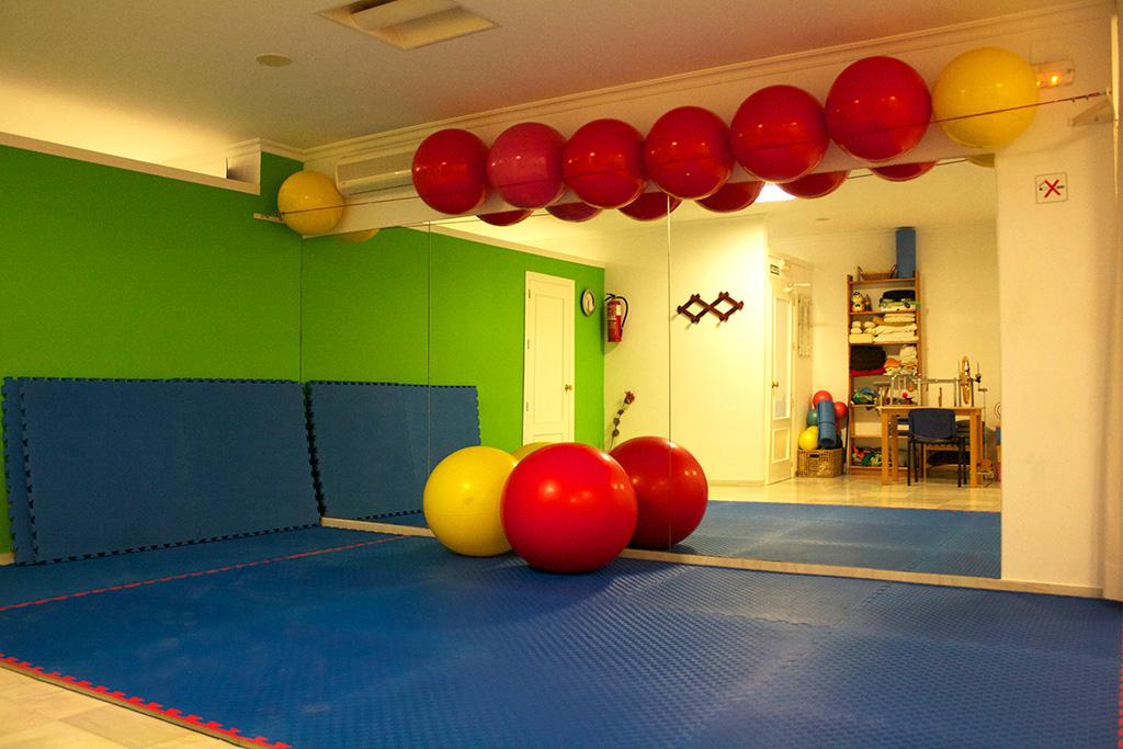 Imagen del interior de la clínica