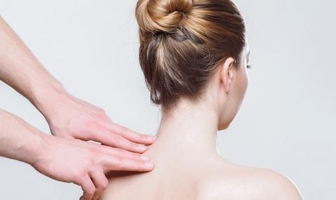 Fotografía de masaje